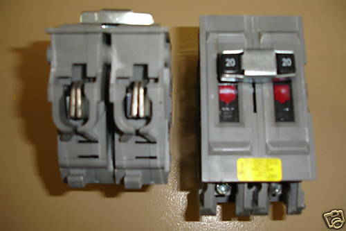Wadsworth 2 Pole 15 thur 60 amp plug in Circuit Breaker