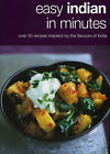 Easy Indian in Minutes by Kyle Books (Hardback, 2006)