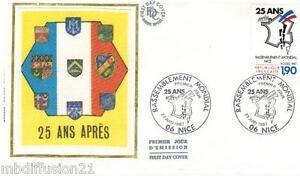1987-ENVELOPPE-SOIE-FDC-1-JOUR-RASSEMBLEMENT-DES-PIEDS-NOIRS-TIMBRE-Y-T-2481