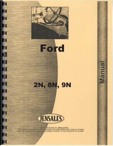 Ford 2n 8n 9n Tractor Service Manual FO-S-2N8N9N