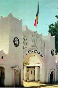 WW2-Photo-Le-camp-Koufra-a-Fort-Lamy-Tchad