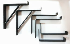 Rustic-Shelf-Brackets-Scaffold-Board-Bracket-Industrial-Heavy-Duty-225mm-UK-Made