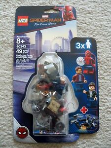 LEGO-Marvel-Spiderman-Far-From-Home-Minifigure-Pack-40343-New-amp-Sealed