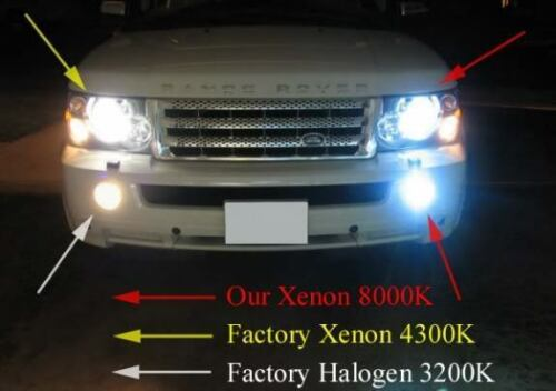 Digital Slim Ballasts 35W AC 9006 XENON HID Kit Super Bright Headlight Bulbs