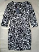 Armani Jeans women's black&white floral print dress size 42EU (10UK)