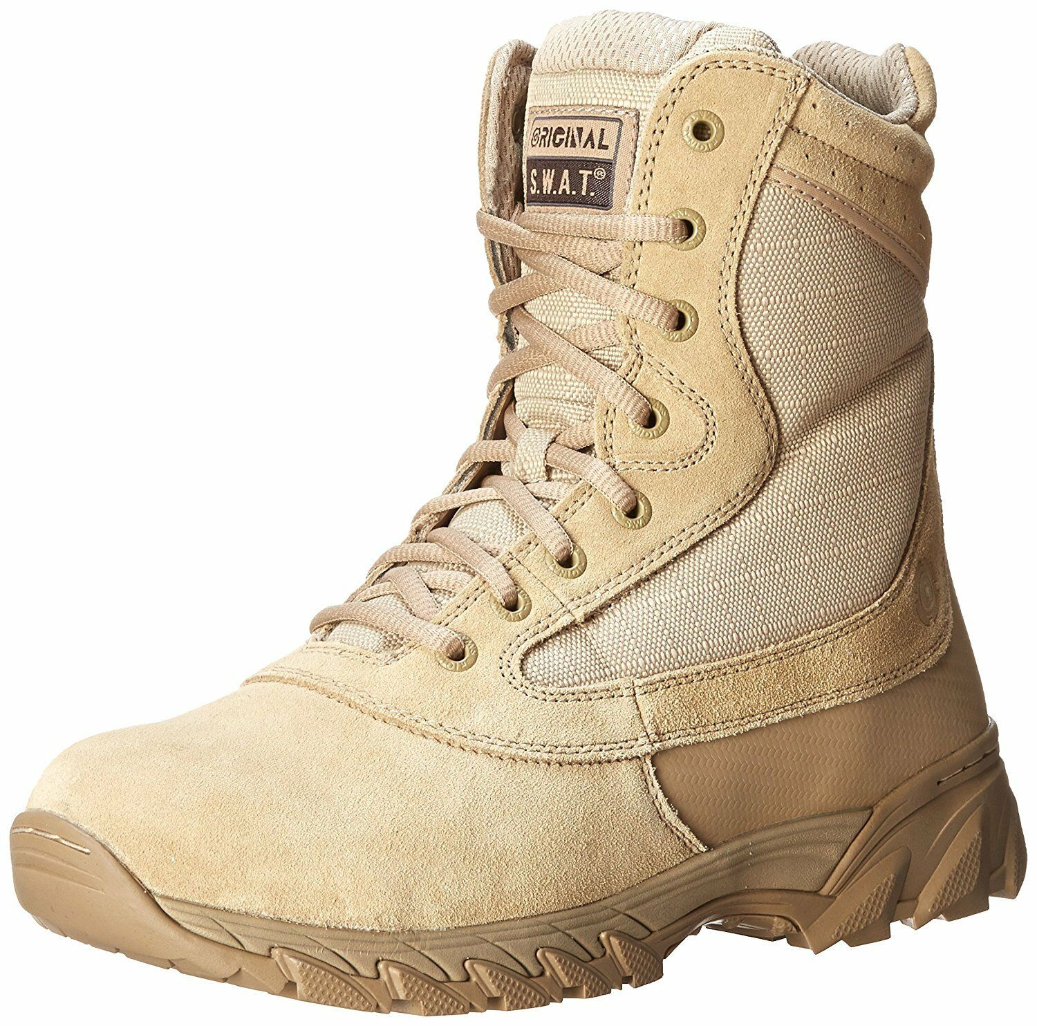 Original S.W.A.T. 131202 Men's Chase 9 Inch Side Zip  Tactical Boot, Tan  save up to 30-50% off
