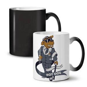 Hot Pimp Funny Dog NEW Colour Changing Tea Coffee Mug 11 oz | Wellcoda
