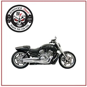 Pot-D-039-Echappement-Road-Rage-II-B1-Power-Chrome-2-1-Sportster-Harley-XL-883