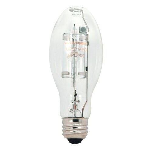 SATCO S5860 150W ED17 E26 BASE METAL HALIDE LAMP CLR 4000K M102//O BALLAST