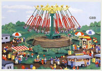 Ho 1:87 Scale Circus Carnival Swinger Ride Kit In Sealed Box Ihc 5113