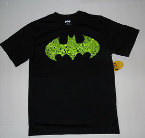 BATMAN The CAPED CRUSADER DC COMICS Cotton Tees T-Shirt NWT Boys Size 4-12  $18