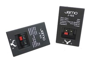 2-x-Original-JAMO-J-103-Speaker-Terminal-Connection-Speaker-Cable-Terminal-Top