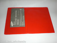 Red Bookshelf Tag Holders - Great For Hunting And Fishing Licenses Lot Of 100