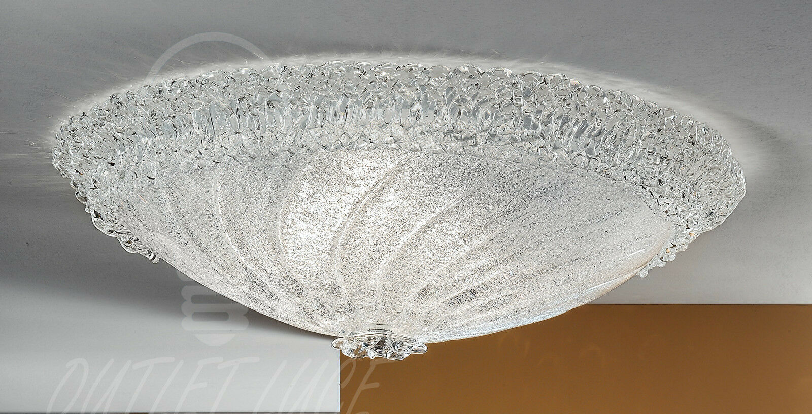 Plafoniera Tessuto Grande : Plafoniera gea luce modello luisa p g grande