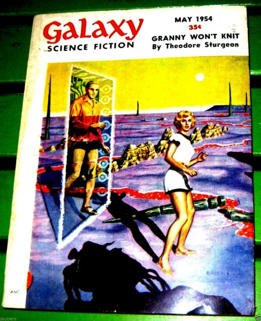 GALAXY SCIENCE FICTION:- May (1954) Galaxy-Theodore Sturgeon; Winston Marks