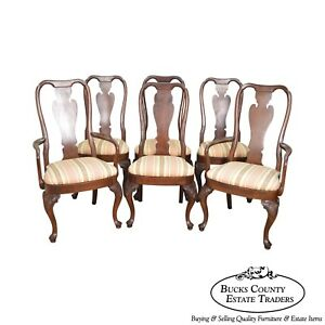 Image Is Loading Creek Solid Cherry Wood Set 6 Queen