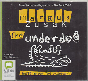 Markus-Zusak-The-Underdog-3CD-Audio-Book-NEW-Unabridged-Young-Adult-FASTPOST