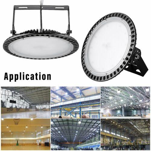 100//200//300W UFO LED High Bay Light Industrial Warehouse Factory Workshop
