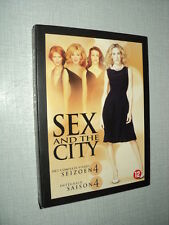 SEX AND THE CITY SAISON 4 COFFRET 3 DVD Sarah Jessica Parker