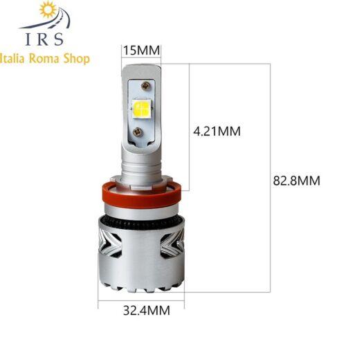 H11 LAMPADA PER AUTO SPECIFICA PER LENTICOLARE 12//24V 12000 LM 6500K