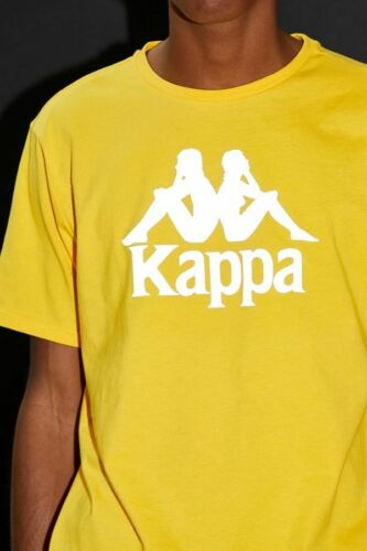 BRAND NEW Kappa Authentic Dris Reflective Tee Gold