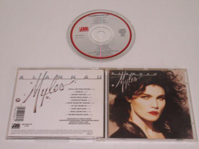 Alannah Myles / de Alannah Myles (Atlantic 7567-81956-2) CD Album