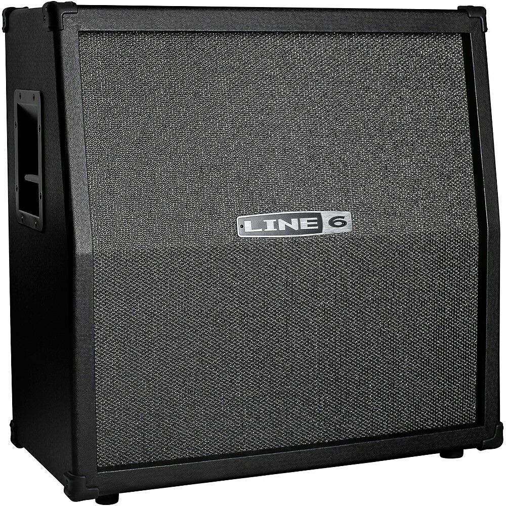 Line 6 Spider V 412 MKII 320W 4x12 Guitar Speaker Cabinet Black. Buy it now for 299.99