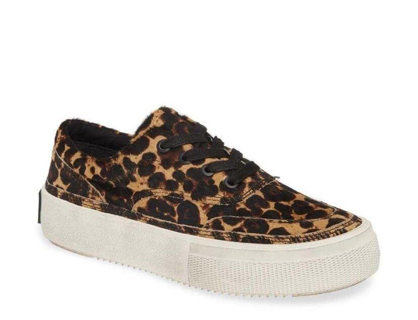 ALLSAINTS Mercia Leopard Sneaker NWOT 40
