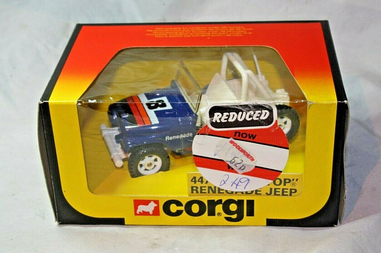 Corgi 447, Renegade Jeep, Mint Mint Mint in Excellent Original Box 4fd18c