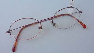 Schatz als seltenes Gut beste website wie man serch Details zu Brillengestell Damen Herren Brille unten randlos leicht oval  klein rot Gr S
