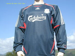 pretty nice b5bc3 44f04 Details about BNWT Liverpool 06-07 Player Issue Goalkeeper Shirt XL