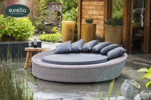 Möbel Für Wintergärten essella polyrattan sonneninsel liege wellness liegen