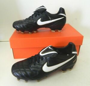 premium selection 4b8a9 87586 Details about NEW Tiempo Legend III FG Soccer Cleats Kid's Black / White /  Gold