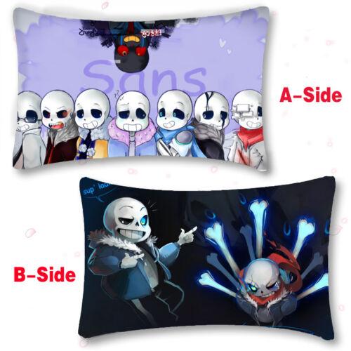 Undertale Sans Papyrus Game Cushion Pillow Case Cover Dakimakura Gift Hot Anime#
