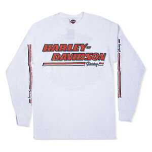 Harley-Davidson T-Shirt Biker Long Sleeves Men Woman Tel Aviv Israel Gray