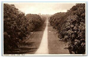 Picture-Postcard-Windsor-Castle-Long-Walk-Berkshire