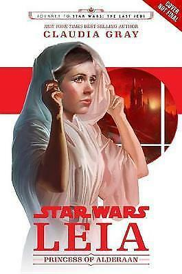 1 of 1 - Journey to Star Wars The Last Jedi Leia Princess of Alderaan by C Gray Paperback