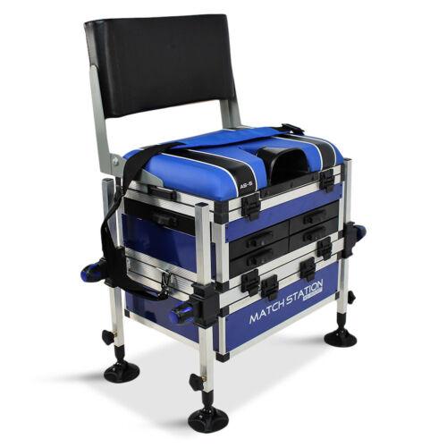 Match Station AS5 Drawer Alloy Pro-Sport Seat Box /& Back Rest