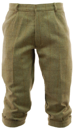 Men/'S LIGHT derby Tweed Breeks pantalone da imbianchino PLUS zampe CACCIA TIRO d35
