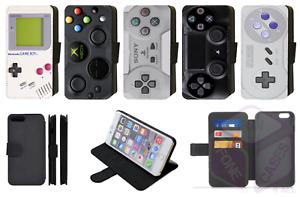 RETRO-GAMING-CONTROLLER-Design-Wallet-Flip-Phone-Case-iPhone-Galaxy