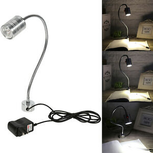 3w led lampe arbeitsleuchte mit magnetfuss flexible schwanenhals magnet leuchte ebay. Black Bedroom Furniture Sets. Home Design Ideas