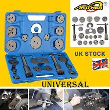 21PC Universal Rewind Windback Tool Heavy Disc Brake Caliper Piston Compressor Pad with Case UK Stock