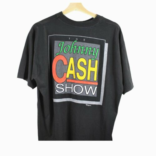 B11 Vintage Richard Southern Johnny Cash Show Shir