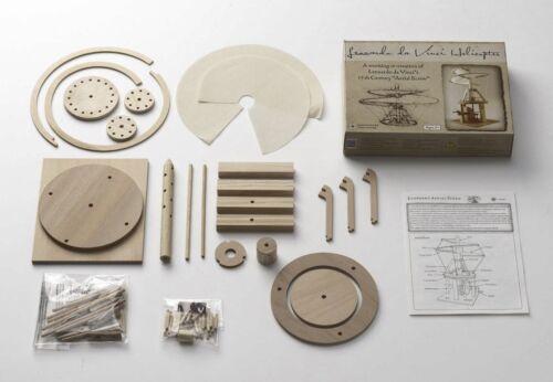 Pfadfinder Holz Konstruktion Modell Bausatz Leonardo da Vinci Hubschrauber