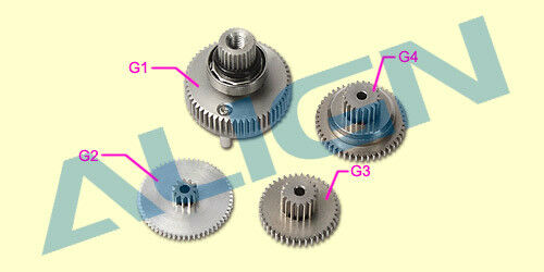 BL700H   BL800H Servo Gear Set HSP70001T