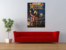 MONKEY ISLAND RETRO PC COMPUTER GAME GIANT ART PRINT PANEL POSTER NOR0044
