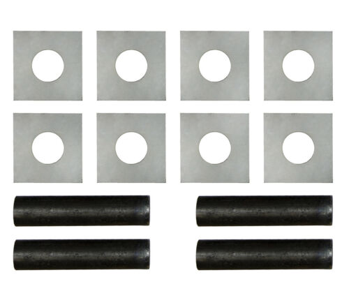 Motamec Sill Tube Set 25 mm ID-Sill Stands Side Pin tubes Kit With Plates