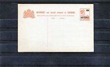 Ungebrauchte Ganzsache Suriname (Surinam) 10 Cent inkl. Antwortkarte - b0632