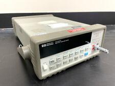 Hp 34420a Nano Volt Micro Ohm Meter