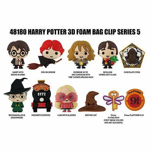 Blind Bag Clip Keychain Series 5 Key Platform 9 3//4 Harry Potter NEW Chase